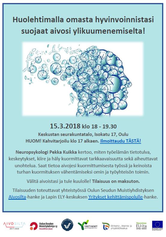 Aivoviikon esite Oulu 15.3.2018