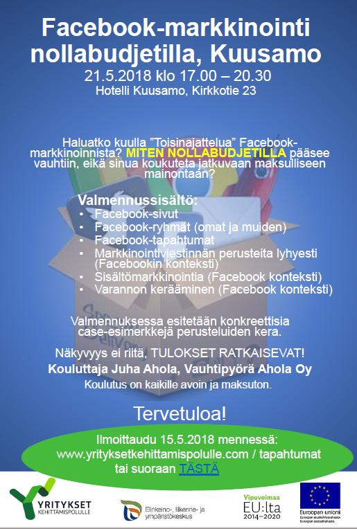 FB-Kuusamo Esitteen kuva