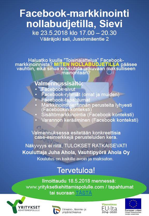 Facebook-info Sievi