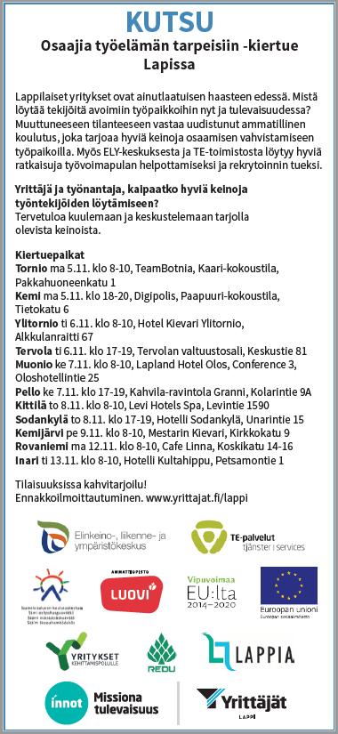 Suomen yrittäjät road show